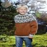 Rätstickad pläd Easy Knit